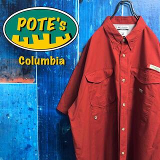 Columbia - 【コロンビア】PFGシリーズロゴタグ入り半袖ビッグフィッシングシャツ