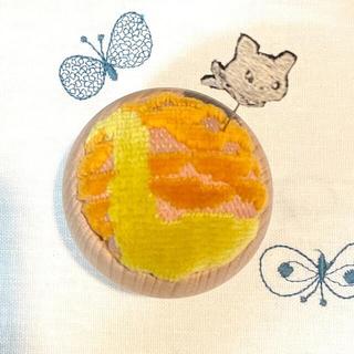 ミナペルホネン(mina perhonen)の*③* クロッチくんピン付き! ミナペルホネン ピンクッション ハンドメイド (雑貨)