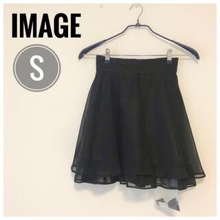 イマージュ(IMAGE)の【新品】ウエストゴムで楽々なのに可愛い♡ 大人気のiMAGE ミニスカート S(ミニスカート)