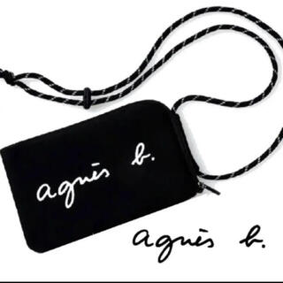 agnes b. - 新品 アニエスベー マルチケース ショルダーバッグ