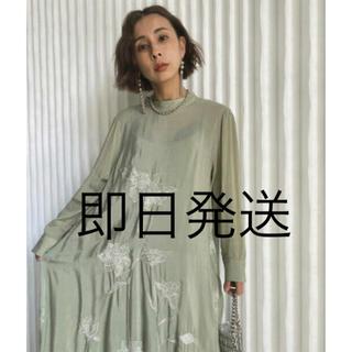 Ameri VINTAGE - アメリ 2WAY FLOWER GARDEN DRESS