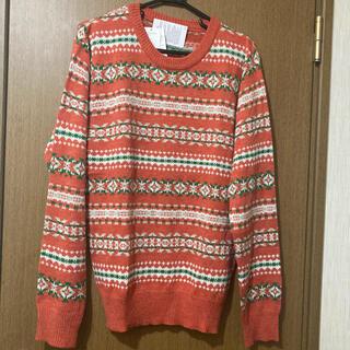 ウィゴー(WEGO)のオレンジセーター(ニット/セーター)
