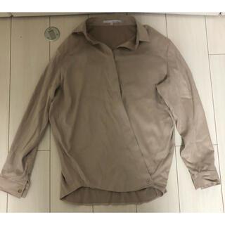 グーコミューン(GOUT COMMUN)のグーコミューン 2wayスエード調シャツ(シャツ/ブラウス(長袖/七分))