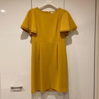 アミウ(AMIW)のAMIW ドレス ワンピース 美品(ひざ丈ワンピース)
