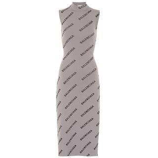 Balenciaga - バレンシアガ ラップドレス グレー