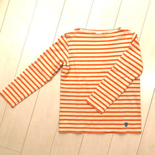 ORCIVAL - オーシバル バスクシャツ エクリュ✖️マンダリン サイズ1