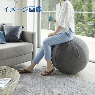 カバー付き バランスボール 75cm(エクササイズ用品)