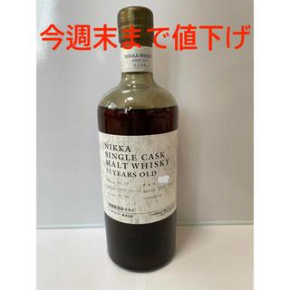 ニッカウイスキー(ニッカウヰスキー)のニッカ シングルカスク 15年(ウイスキー)