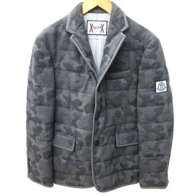 MONCLER(モンクレール)のモンクレール ガムブルー byトムブラウン テーラードジャケット ダウン S  メンズのジャケット/アウター(テーラードジャケット)の商品写真