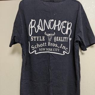 ショット(schott)の断捨離中!Schott 黒Tシャツ(Tシャツ/カットソー(半袖/袖なし))