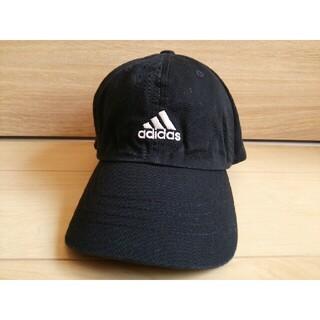 アディダス(adidas)のadidas*レディース帽子キャップ*黒色アディダス(キャップ)
