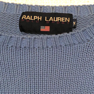 POLO RALPH LAUREN - polo sports Ralph Laurent サマーニット