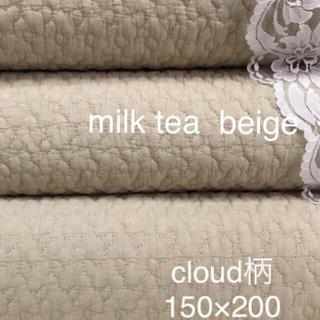 ベビーイブル 韓国イブル クラウド柄ベージュ ラグ150×200(±5)