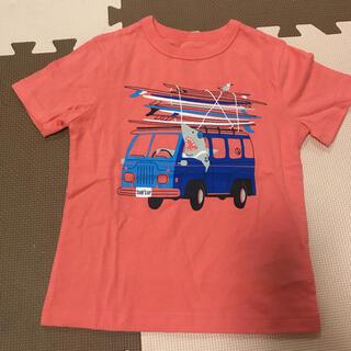 Tシャツ 110cm 4歳 ピンク