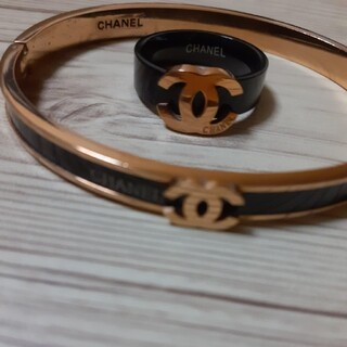 CHANEL - シャネルブレスレット、指輪セット