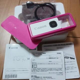 Canon - Canonキャノン NSPiC REC FV-100-PK ピンクアソビカメラ