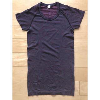 ルルレモン(lululemon)のlululemon 半袖Tシャツ 4(S〜M)美品 送料込(ヨガ)