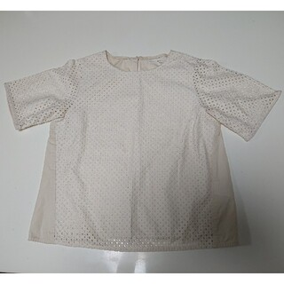 ケービーエフ(KBF)のKBF レースブラウス (シャツ/ブラウス(半袖/袖なし))