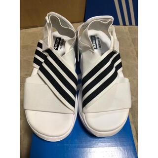 アディダス(adidas)の★アディダス スポーツサンダル マグマサンダル 22.5 白 ホワイト★80(サンダル)
