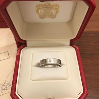 Cartier - カルティエ ラブリング ホワイトゴールド
