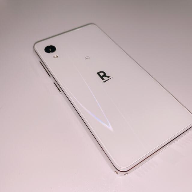 Rakuten(ラクテン)のRakuten Mini (C330)・ホワイト スマホ/家電/カメラのスマートフォン/携帯電話(スマートフォン本体)の商品写真