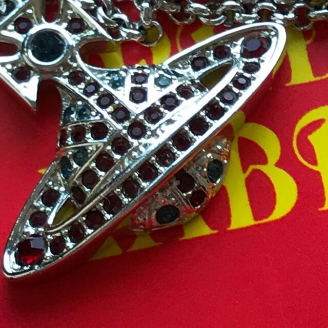 Vivienne Westwood(ヴィヴィアンウエストウッド)のヴィヴィアン ユニオンジャック ネックレス レディースのアクセサリー(ネックレス)の商品写真