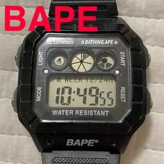 アベイシングエイプ(A BATHING APE)のエイプ 腕時計 付録 デジタル(腕時計(デジタル))