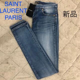 サンローラン(Saint Laurent)の新品タグ付き サンローランパリ SAINT LAURENT デニム レディース(デニム/ジーンズ)