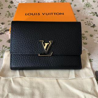 LOUIS VUITTON - 【美品】ヴィトン ポルトフォイユ・カプシーヌ コンパクト