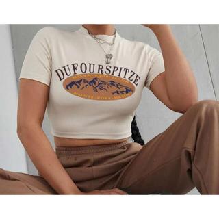 ザラ(ZARA)のSHEIN Tシャツ ロゴTシャツ 半袖(Tシャツ(半袖/袖なし))