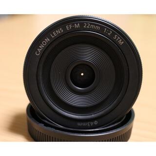 Canon - Canon EF-M 22mm F2 STM ブラック