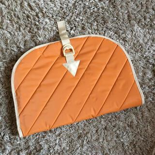シセイドウ(SHISEIDO (資生堂))の資生堂 トラベルケース オレンジ(旅行用品)