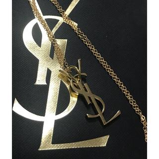 サンローラン(Saint Laurent)のイヴサンローラン  ゴールドカラー ネックレス BTS 韓国 (ネックレス)