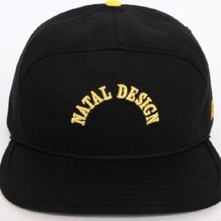 ネイタルデザイン(NATAL DESIGN)の【新品】ネイタルデザイン GOOD BOY TWILL CAP ブラック(キャップ)