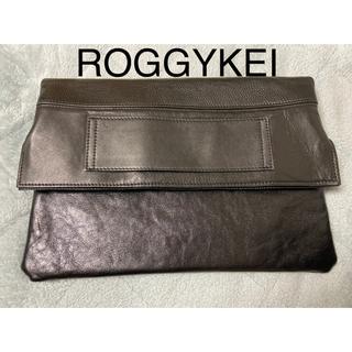 【再値下げ】ROGGYKEI  リバーシブルクラッチバッグ【タグ付き新品未使用】(クラッチバッグ)