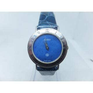 Gucci - 【バッテリー交換済】GUCCIクォーツStering腕時計レディース