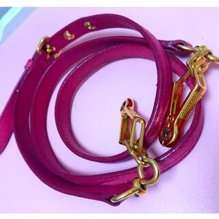 ミュウミュウ(miumiu)のmiumiu   ミュウミュウ 斜めがけショルダーストラップ ショルダーバック(ショルダーバッグ)