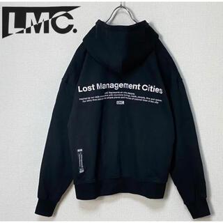 【LMC】エルエムシーフルジップスウェットパーカーバックロゴ韓国ストリート774