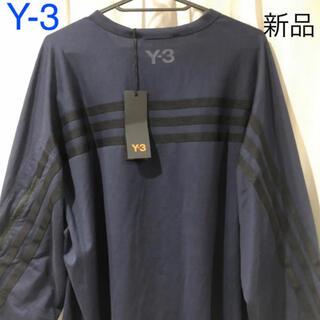 Y-3 - 新品タグ付き Y-3 ワイスリー アディダス 長袖Tシャツ ロンT メンズ