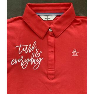 マンシングウェア(Munsingwear)の新品!マンシングウェア レディース ポロシャツ Mサイズ(ウエア)