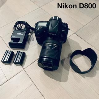 Nikon - nikon D800/動作確認済み 3680万画素 Nikon ニコン一眼レフ