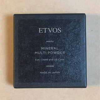 エトヴォス(ETVOS)のETVOS エトヴォス ミネラルマルチパウダー ミモザオレンジ(アイシャドウ)