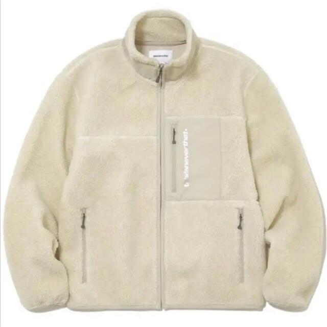 thisisneverthat フリースジャケット メンズのジャケット/アウター(ブルゾン)の商品写真