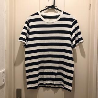 MUJI (無印良品) - 無印 ボーダーTシャツ