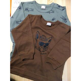 petit main - 【未使用】長袖Tシャツ2枚セット