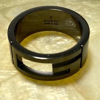 Gucci - 【美品】GUCCI グッチ リング ブラック シルバー 925  サイズ: 15