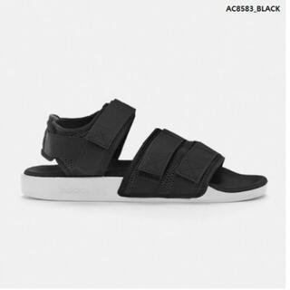 adidas - adidas アディレッタ サンダル ブラック 黒