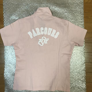 ZOY - 美品 ZOY ゴルフロゴ刺繍&ロゴワッペンポロシャツ サイズL ピンク