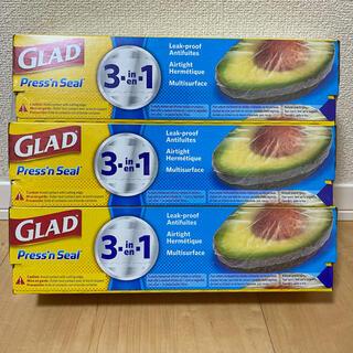 コストコ - GLAD press'n Seal(グラッド プレス&シール)3本セット
