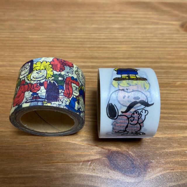 SNOOPY(スヌーピー)のスヌーピー  マスキングテープ インテリア/住まい/日用品の文房具(テープ/マスキングテープ)の商品写真